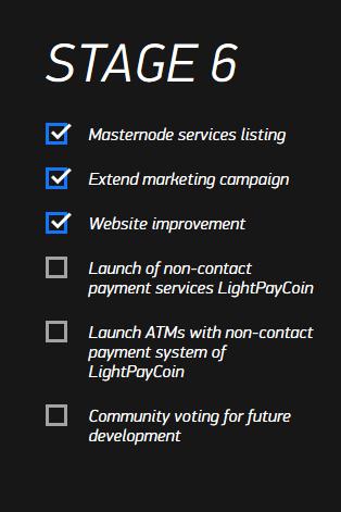 RoadMap LightPayCoin 6